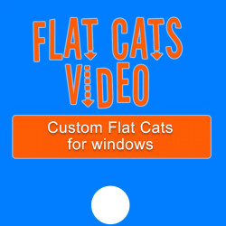 Custom Flat Cats for Windows